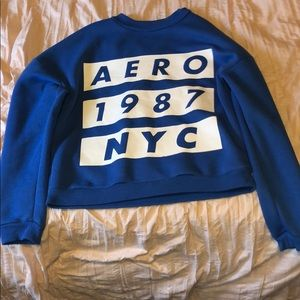 Blue Aeropostale Sweater Size M